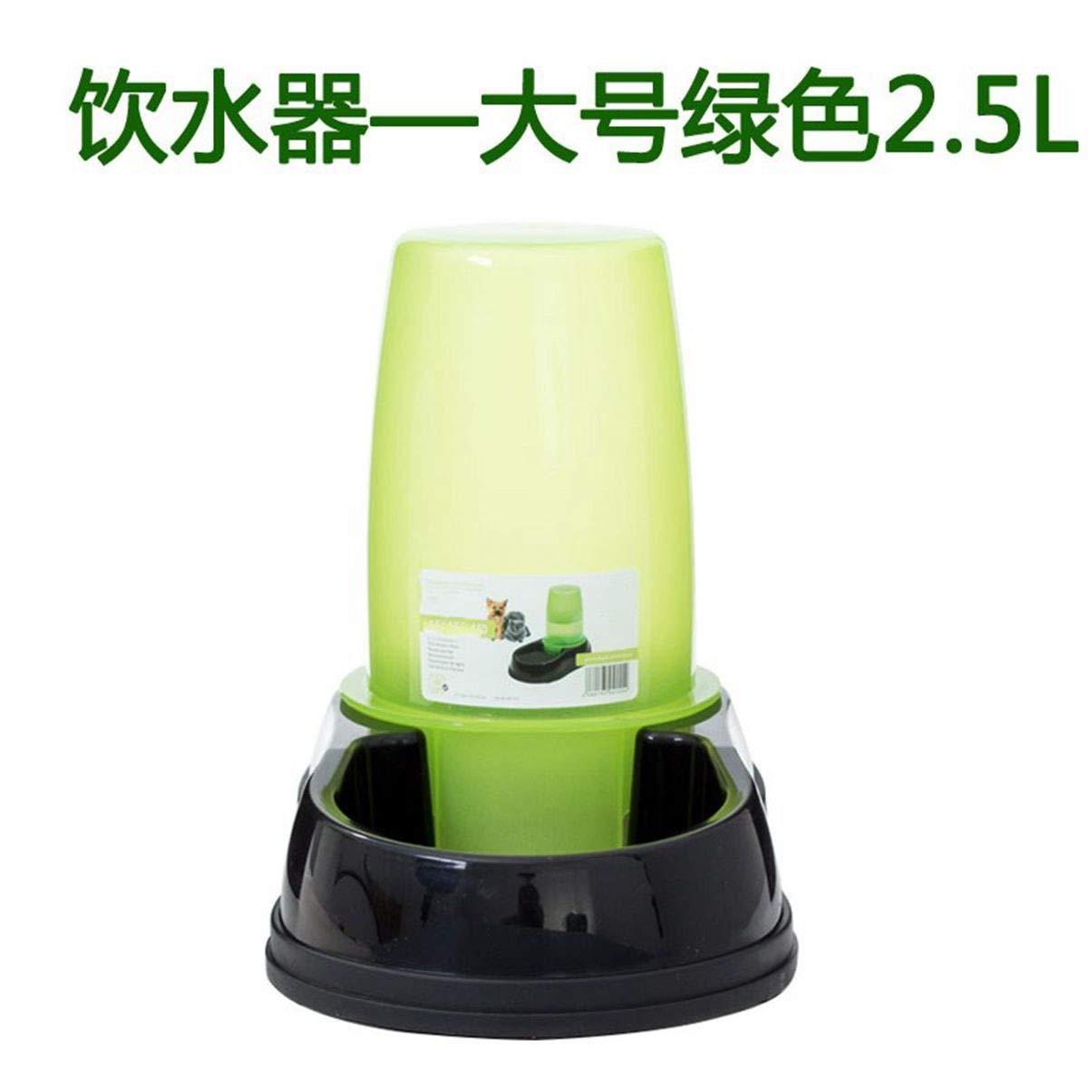 CHENYAJUAN Convoyeur d'alimentation Animaux De Compagnie Chat Chien Chat Bassin Bol d'or Teddy Distributeur d'eau Automatique Gros Chien (11 litres) 11 litres Seau d'eau d'alimentation