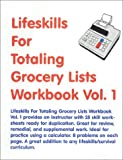Lifeskills for Totaling Grocery Lists 9781585320875
