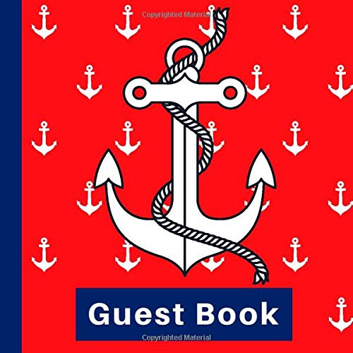 Nautical Baby Shower Guest Book Includes Gift Tracker and Picture Pages to Create a Lasting Keepsake of Your Special Day Guest Book