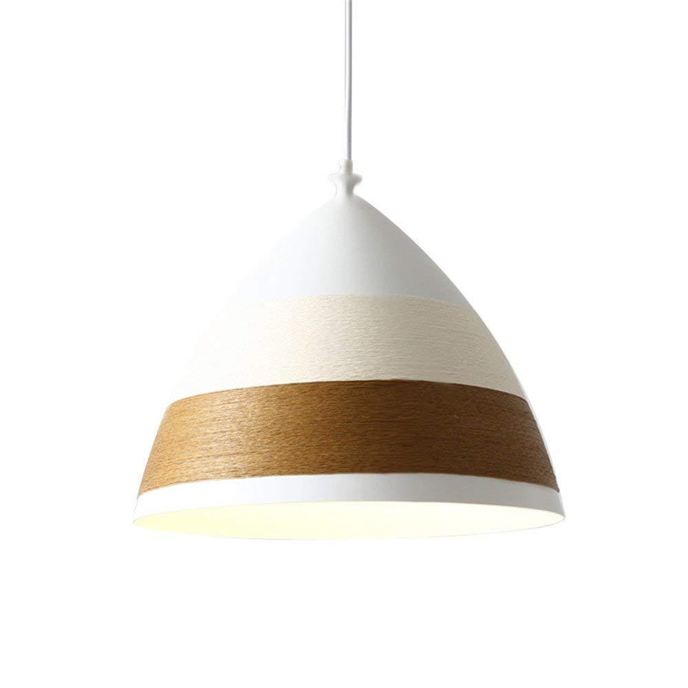 Modernes, Minimalistisches Kreative Beleuchtung Im Japanischen Stil Europäischen Hanfseil Single Head Pendelleuchte Für Wohnzimmer Schlafzimmer Restaurant Bar, 35  13,5 Cm