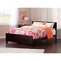Atlantic Furniture AR8136031 Orlando Bed Solid Hardwood, Full