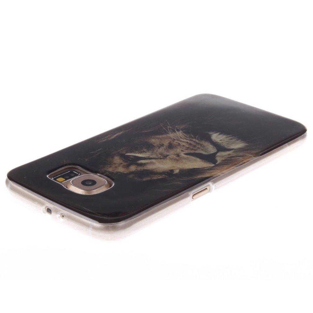Diente de le/ón Galaxy/S6 Carcasas TPU Silicona Case Anti-Est/ático OUJD Funda Samsung S6 Ultra-Delgado Totalmente Protectora Cover para Samsung Galaxy S6 Anti-Rasgu/ño