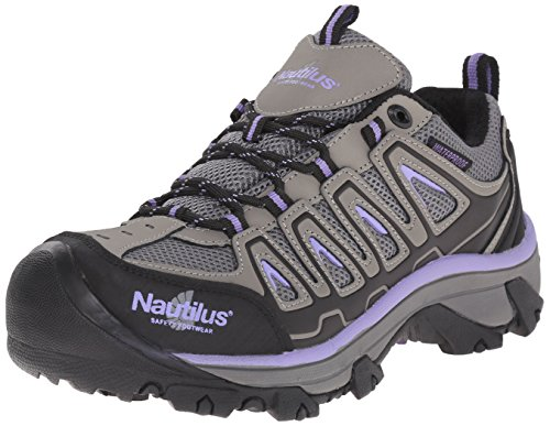 Nautilus Safety Footwear Women's 2258 Work Shoe, Grey, 9 M US