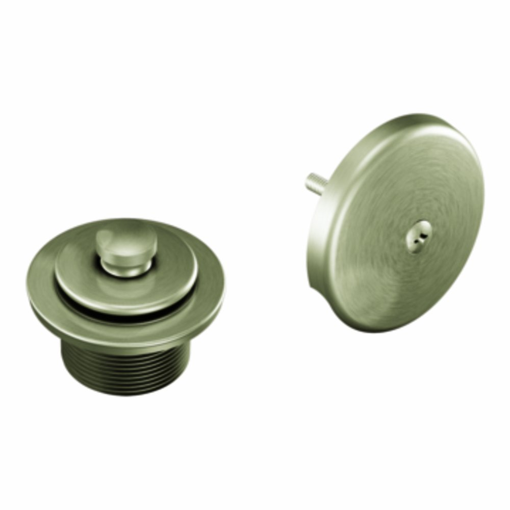 Moen T90331BN Tub and Shower Drain Cover, Brushed Nickel