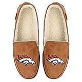 Denver Broncos NFL Mens Exclusive Beige Moccasin - M