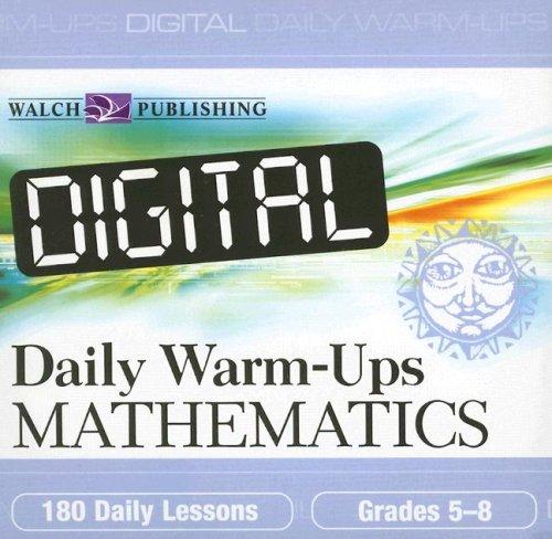 Read Online Digital Daily Warm-ups: Mathematics, Grades 5-8 PDF