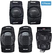 GAOAG Knee Pads Protector Adjustable Elbow Pads for Adults Youth Cycling Ice Skating Mountain Climbing CS Equi