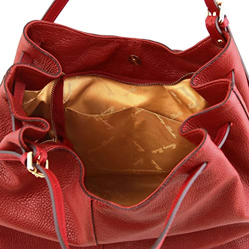 Morbida Pelle In Leather Cinzia Champagne Borsa Tuscany Shopping nxvYRwqFF