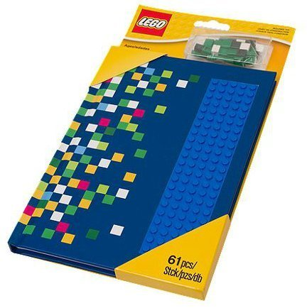 LEGO Blue Notebook with Studs 853569
