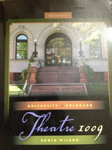 University of Colorado Theatre 1009