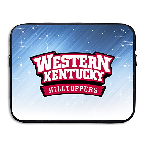 ZOENA Western Kentucky Hilltoppers Football WKU Shock-Resistant Tablet Zipper Cover Bag 13-15 Inch (Padres Cycling Jersey compare prices)