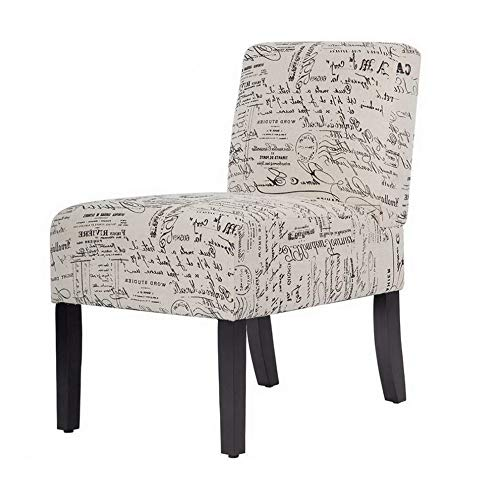 (Monowi Armless Contemporary Sofa Accent Chair, Upholstered Club Side Fabric Chairs | Model CCNTCHR - 221)