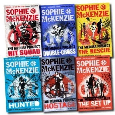 The Medusa Project Collection Sophie McKenzie 6 Books Set (The Rescue, The Hostage, The Set Up, Hunted, Double Cross, Hit - Collection Medusa