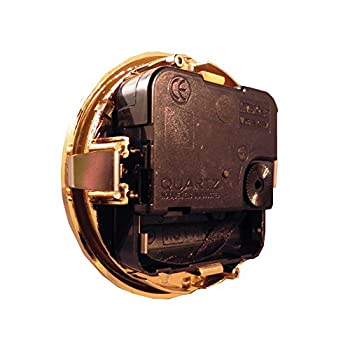 "3-1/8"" Gold Roman Clock Insert"