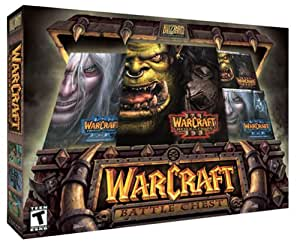 Warcraft III Battlechest with Expansion & Two Strategy Guides