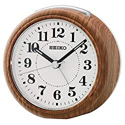 Seiko Clocks Clock Bedside Clock Alarm Watch QHE157B
