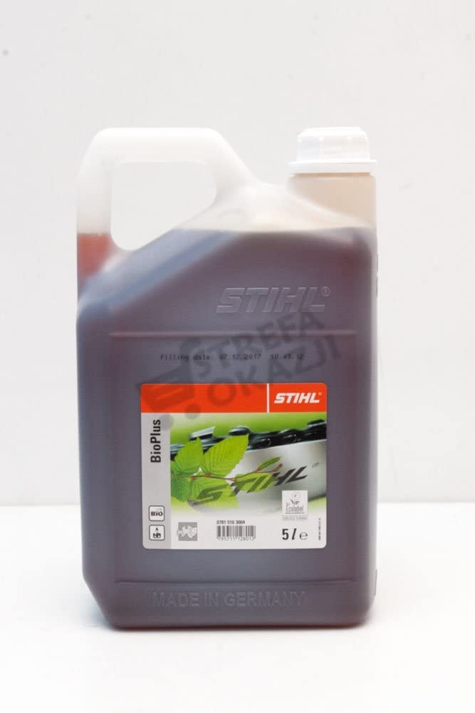 Stihl Bio Plus - Aceite para cadenas de motosierra (5 L)