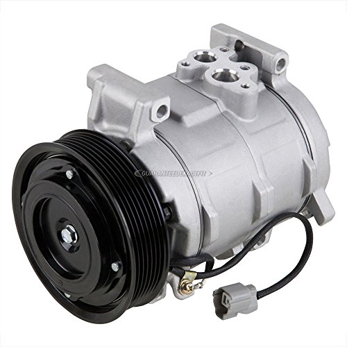 AC Compressor & A/C Clutch For Honda Element 2003 2004 2005 2006 2007 2008 2009 2010 2011 Replaces Denso 10S17C - BuyAutoParts 60-01682NA NEW