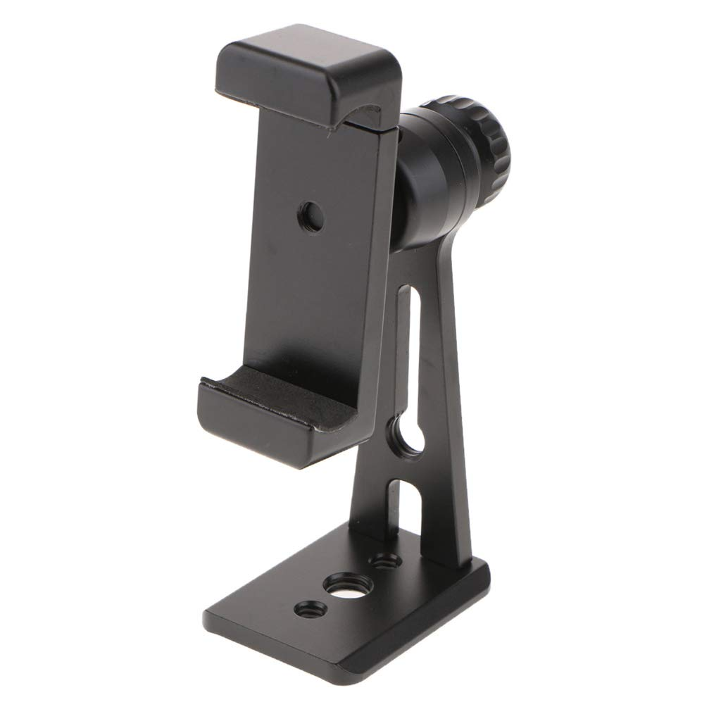 Baosity Ulanzi ST-04 Black Cell Phone Tripod Mount Adapter Smartphone Holder Mount Clip for iPhone Samsung