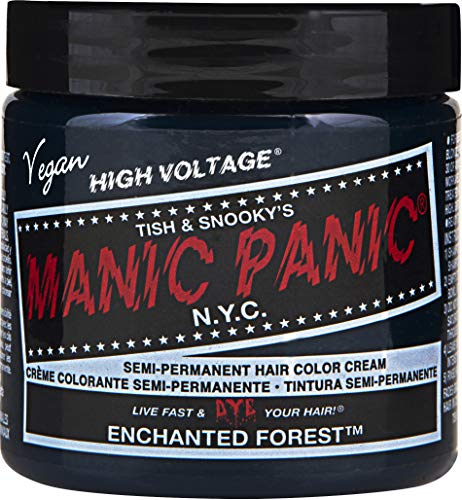 - Manic Panic Enchanted Forest Green Hair Dye Color