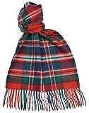 Lambswool Scottish Clan Scarf Macfarlane Modern Tartan