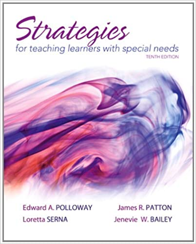 Strategies For Teaching Learners With Special Needs 10th Edition