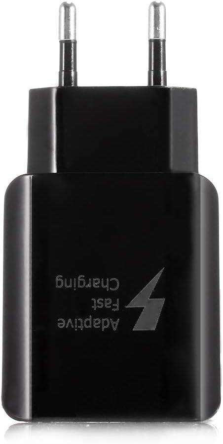 SODIAL USB 5V 2A Cargador de Pared de Viaje Adaptador de Potencia para iPhone X 8 7 Sansung S9 S8 S7 Xiaomi Tablet PC Enchufe de la UE