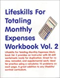 Lifeskills for Totaling Monthly Expenses, Skarlinski, Robert W., 1585320935