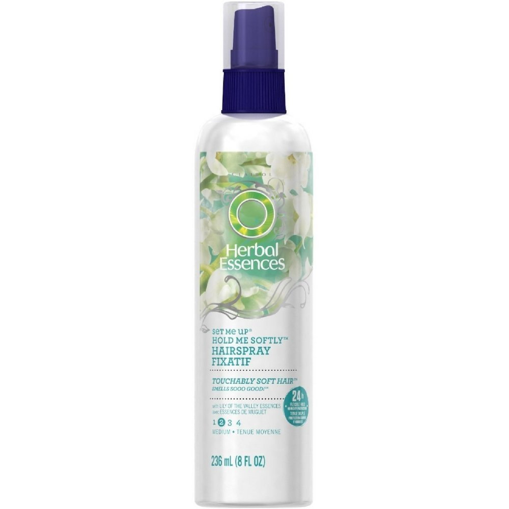 Herbal Essences Set Me Up Extra Hold Non-Aerosol Hairspray 8 oz (Pack of 4)