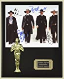 #6: Tombstone Cast Signed Reproduction Autographed 8 x 10 Photo LTD Edition Oscar Movie Display