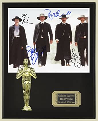 Tombstone Cast Signed Reproduction Autographed 8 x 10 Photo LTD Edition Oscar Movie Display