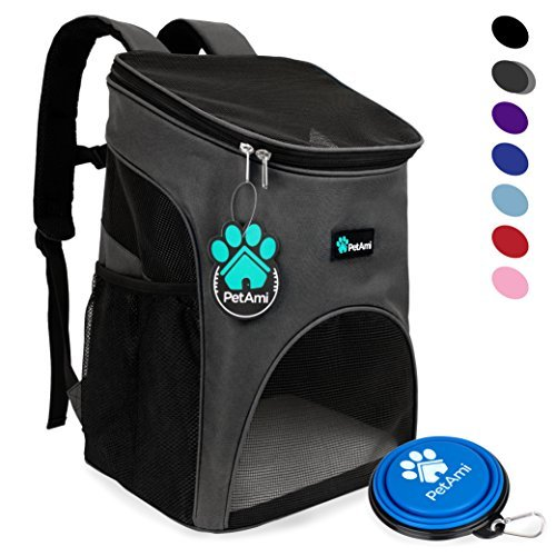 PetAmi Premium Pet Carrier Backpack for Small Cats and...