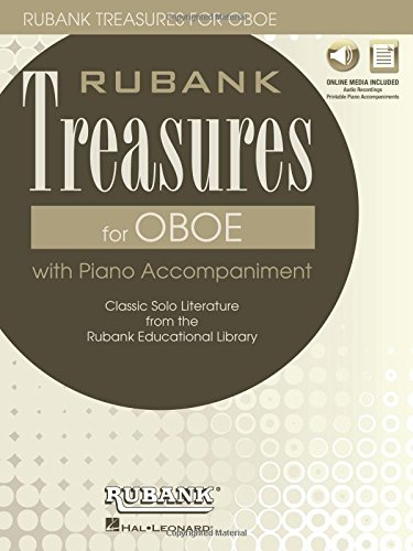 (Rubank Treasures for Oboe: Book with Online Audio (stream or download) (The Rubank Treasures))