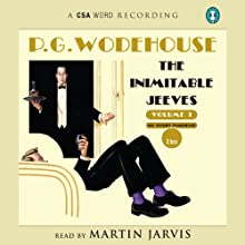 The Inimitable Jeeves Audiobook by P. G. Wodehouse Narrated by Martin Jarvis