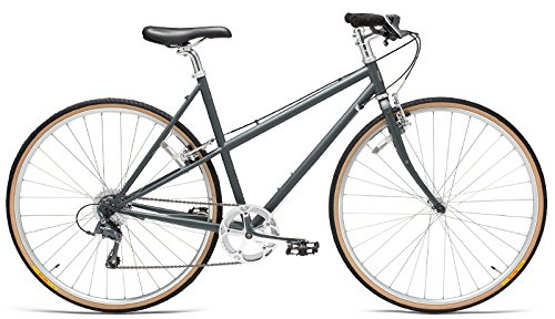 Handsome She Devil 8 Speed Step Through Women's City Bicycle Anthracite