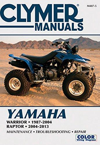 Yamaha Warrior 1987-2004 & Raptor 2004-2013 (Clymer Manuals)