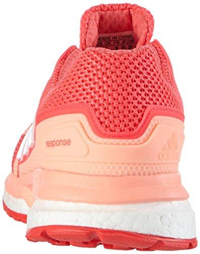 adidas Response Boost 2, Chaussures de Running Compétition Femme, Gris, 42 EU Rouge / Blanc / Rouge (Brisol / Ftwbla / Rojimp)