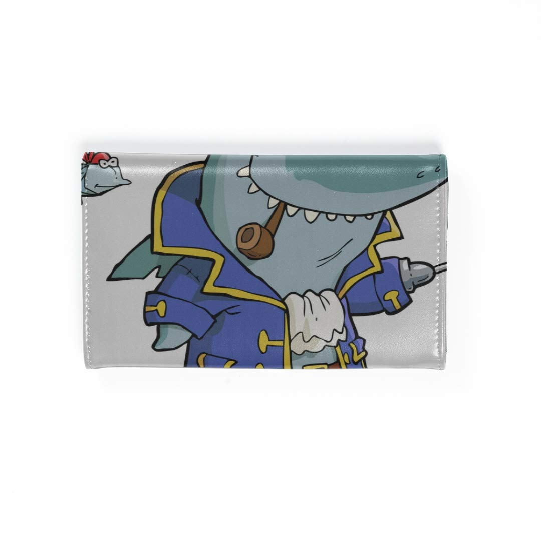 Amazon.com | Cartoon Pirate Shark With Shipwreck Travel ...