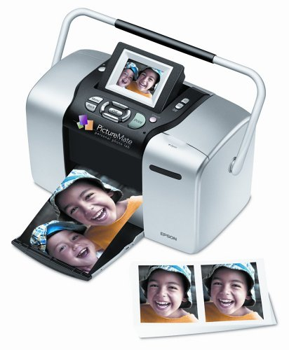 Epson PictureMate Deluxe Viewer Edition Photo Printer -