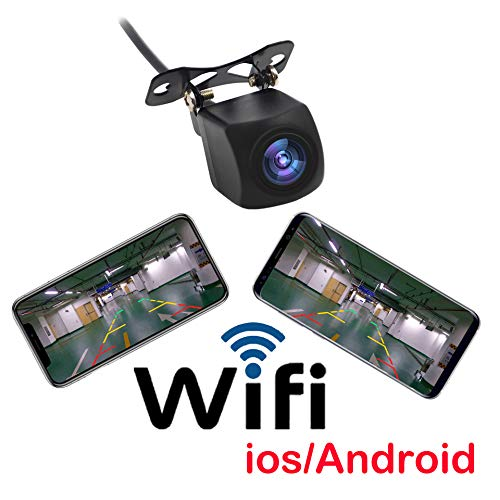 HD WiFi wireless car view camera/backup camera for Android/ ISO