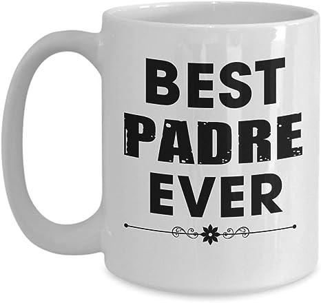 Anniversario Di Matrimonio In Spagnolo.Il Miglior Padre Di Sempre Papa Spagnolo Tazza Da Caffe