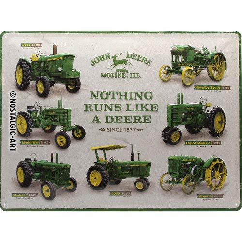 Nostalgic-Art John Deere Model Chart