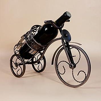 XY&XH Estante del Vino del Triciclo del Hierro labrado de la Vendimia del hogar de la decoración de Moda