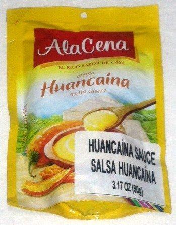AlaCena Crema Huancaina Receta Casera Huancaina Sauce 90 Gr.