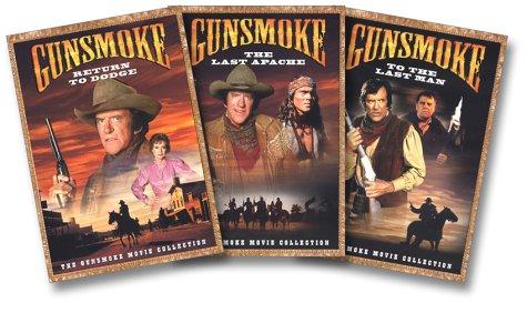 Gunsmoke Movie Collection (Return to Dodge/The Last Apache/To the Last Man) (Gunsmoke Episodes)