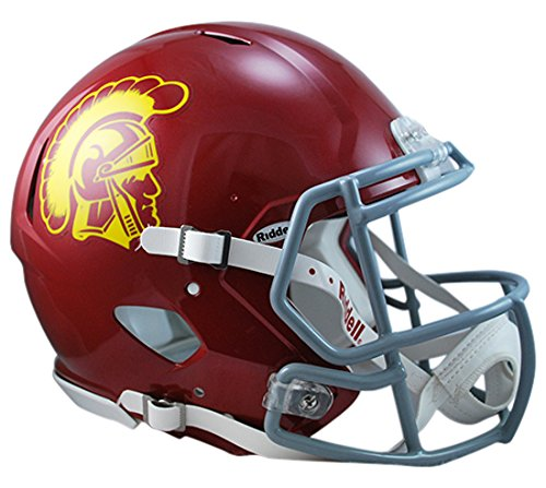 Riddell Sports NCAA USC Trojans Speed Authentic Helmet, Maroon