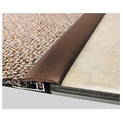 M-D Building Products 31220 96-Inch Vinyl Divider T with Metal Track