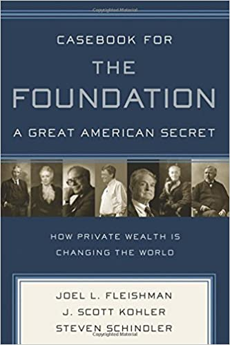 image for Casebook for The Foundation: A Great American Secret