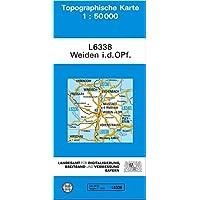Topographische Karten Bayern, Bl.L6338: Weiden i. d. OPf. 1:50000