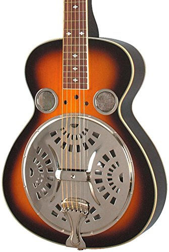 Rogue Classic Spider Resonator Sunburst Squareneck by Rogue